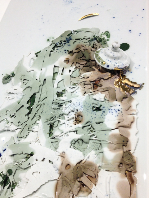 , 'Slip Spill 2,' 2012, PLUTSCHOW GALLERY