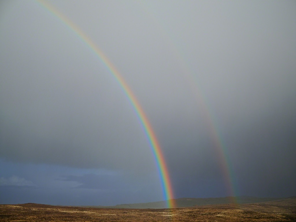Paul Graham, 'Double Rainbow, Donegal, Ireland,' 2013, Pace/MacGill Gallery