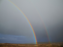 , 'Double Rainbow, Donegal, Ireland,' 2013, Pace/MacGill Gallery