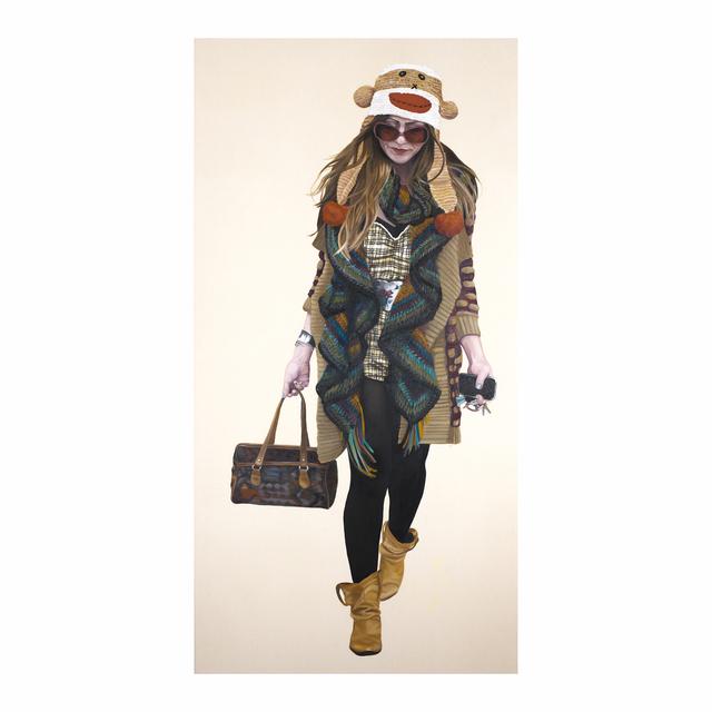 , 'Courtney Walking - Monkey Hat,' 2007, Jen Mauldin Gallery
