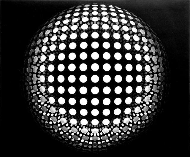 , 'Dot Sphere #1 Black,' 2016, Galerie Richard