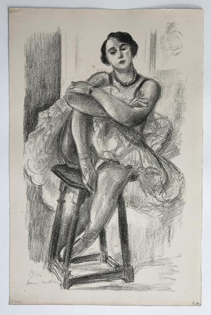 , 'Danseuse Assise au Tabouret, Genou releve et bras croises ,' 1923, Fairhead Fine Art Limited