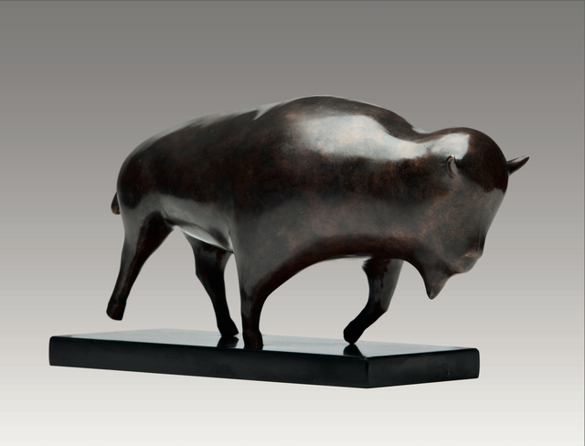 , 'Bison,' , Robert Hooke Sculpture Gallery