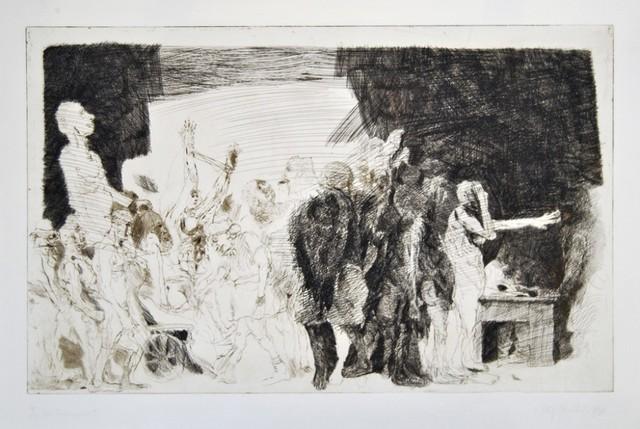 Alfred Hrdlicka, ' Der Transport', 1968, Wallector