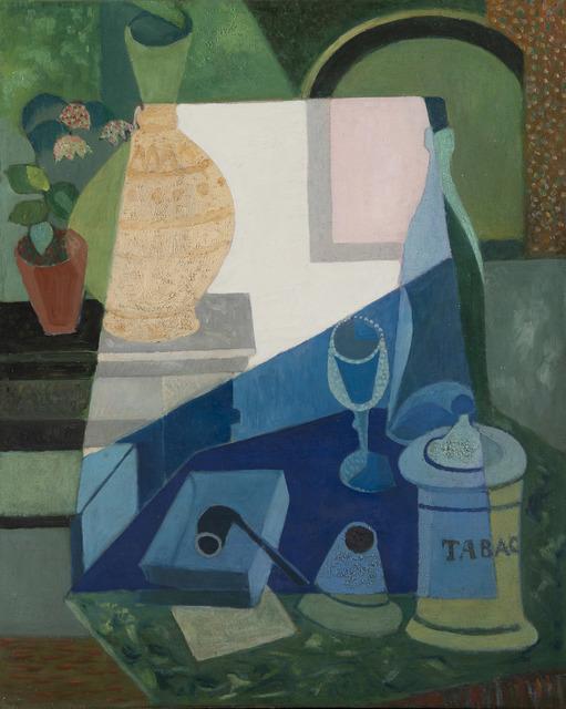 Mauel Ortiz de Zarate, 'Nature morte à la pipe', Unknown, HELENE BAILLY GALLERY
