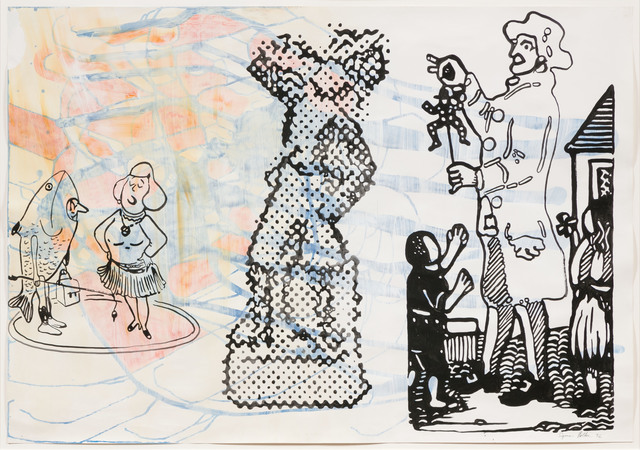 Sigmar Polke, 'Untitled', 1992, Barbara Mathes Gallery
