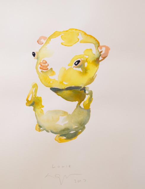 , 'Louie,' 2017, Powen Gallery