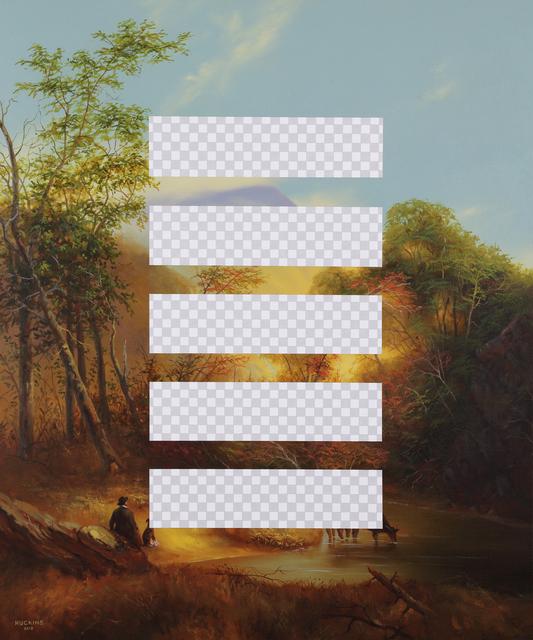 , 'Planet B (Pastoral Landscape, Erasure No. 6),' 2018, Modernism Inc.
