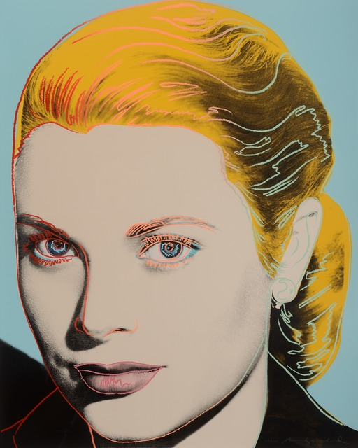 Andy Warhol, 'Grace Kelly', 1984, Galeries Bartoux Singapore