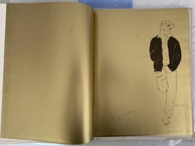 Andy Warhol, 'A Gold Book', 1957, Susan Sheehan Gallery