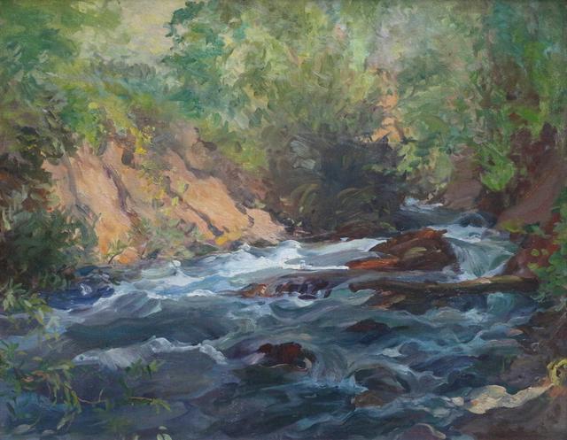 Waldo Park Midgley, 'Creek in Utah', ca. 1939, Phillips Gallery