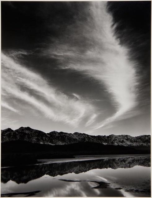 Ansel Adams, 'Sierra Nevada, Winter Evening, from the Owens Valley', 1962, Jackson Fine Art