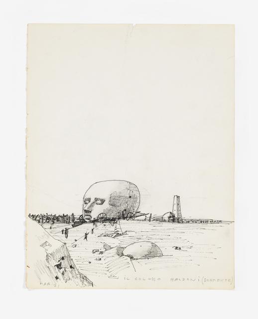 , 'Il Colosso Belzoni (Dormente),' 1971, Noguchi Museum