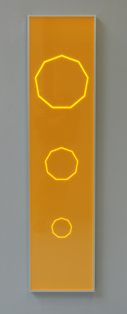 , 'Nonagonale Doppelprogression ,' 2016, Galerie La Ligne