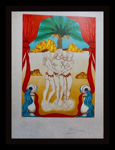 Salvador Dalí, 'The Three Graces of Hawaii', 1979, Fine Art Acquisitions