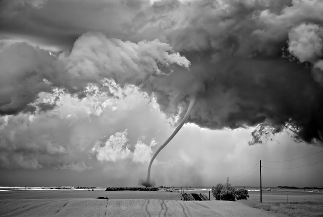 Mitch Dobrowner, 'Rope Out, Regan, North Dakota', 2011, Catherine Couturier Gallery