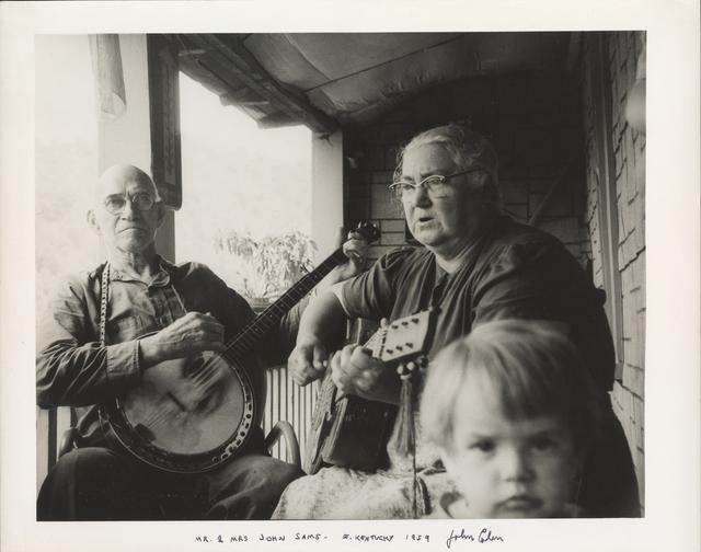 John Cohen, 'Mr. and Mrs. John Sams, E. Kentucky', 1959, Galerie Julian Sander