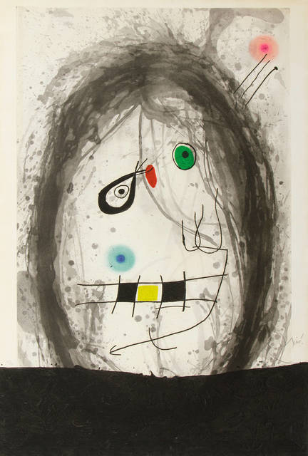 , 'Exile Noir,' 1969, Galerie Maximillian