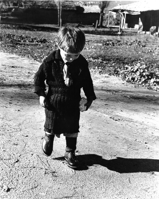 , 'Elefeteria and her new shoes II, Greece,' 1949, °CLAIRbyKahn Galerie