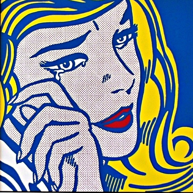 Roy Lichtenstein, 'Crying Girl 1964 for Art Basel', 1987, Alpha 137 Gallery Auction