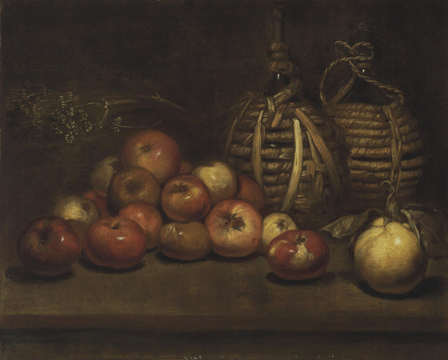, 'Wine bottles with apples and a quince,' , Christie's Old Masters