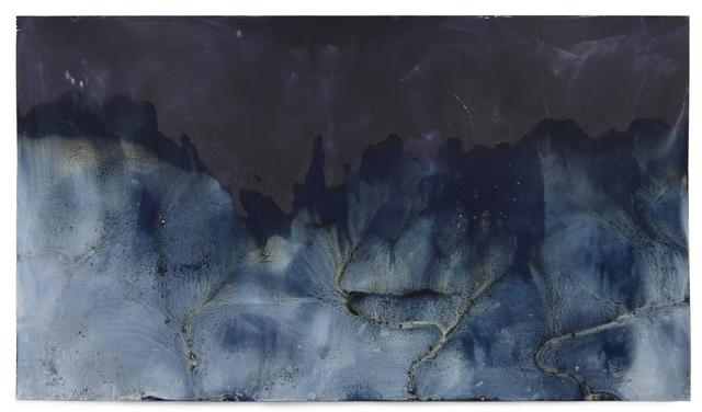 Meghann Riepenhoff, 'Littoral Drift #1319 (Private Beach, Manzanita Bay, WA 10.01.19, Waves from Passing Boat)', 2019, Haines Gallery