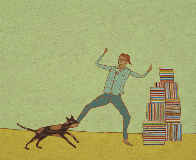 , '50 Ways To Knock You Down: Rabies,' 2018, Gibbons & Nicholas