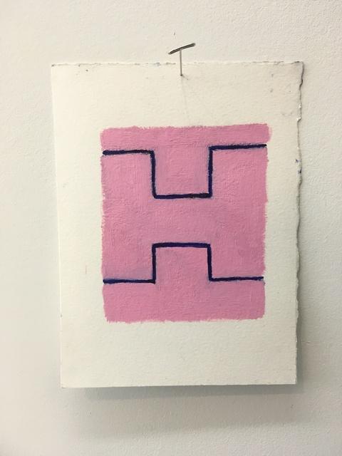 Chris Esposito, 'Pink: blue (H)', 2019, Amos Eno Gallery