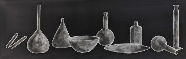 Tony Cragg, 'Laboratory Still Life II, State 1', 1988, Print, Etching and aquatint, Capsule Gallery Auction