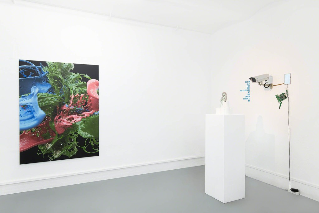 The Wrong Club - Installation view: Banz und Bowinkel,  Igor Štromajer