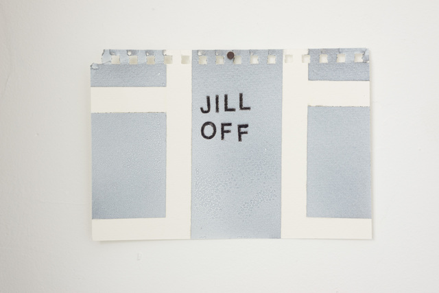 , 'Jill Off,' 2016, Wil Aballe Art Projects | WAAP