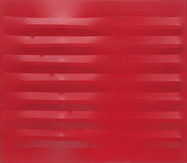 , 'Rosso,' 1982, Barbara Mathes Gallery
