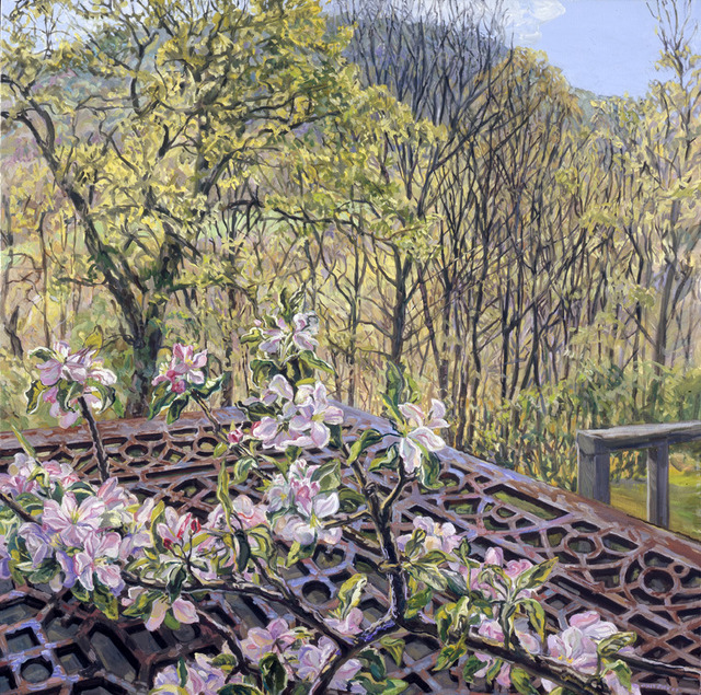 , 'Apple Blossoms/Spring Trees,' 2008, DC Moore Gallery