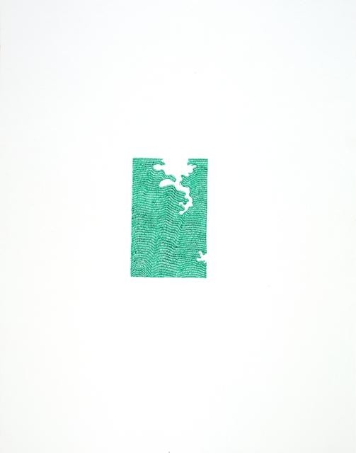 , 'praise poems II  (10/12),' 2018, Galerie Krinzinger