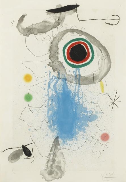 Joan Miró, 'L'Astre du Labyrinthe (D. 425)', 1967, Sotheby's