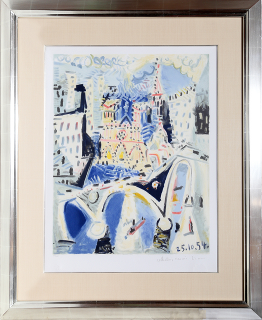 Pablo Picasso, 'Notre Dame, 16-D', Year of Original Artwork: 1954 | Published: 1979 -1982, RoGallery Auctions