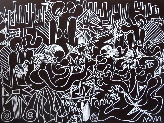 , 'Night Moves,' 2017, Joshua Tree Art Gallery