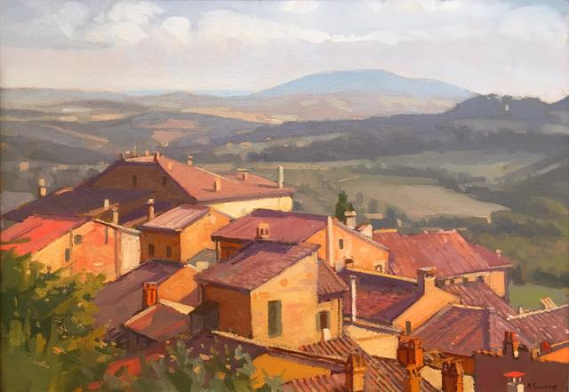 , 'Montepulciano, Spring,' 2017, William Baczek Fine Arts