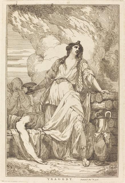 John Hamilton Mortimer, 'Tragedy', 1778, National Gallery of Art, Washington, D.C.