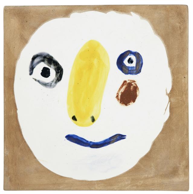 Pablo Picasso, 'Tête polychrome', 1961, BAILLY GALLERY