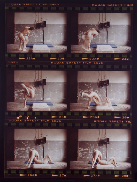 , 'After Bacon/Muybridge, Whizzer leg Toss,' 1980, Galerie Donald Browne