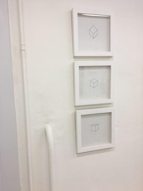 , 'Etude des cubes de Képler,' 1977, Galerie du Griffon