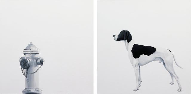 , 'Par/Adox (Fire Hydrant), Diptych,' 2017, Beatriz Esguerra Art