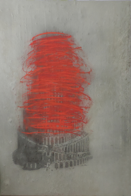, 'Autodafé,' 2017, Mark Hachem Gallery