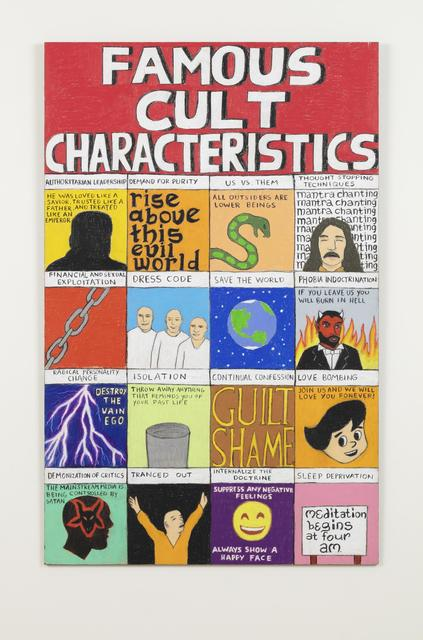 , 'Famous Cult Characteristics,' 2018, Galerie Forsblom