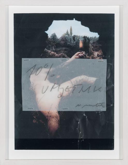 , '10% Artist,' 2012, Aanant & Zoo