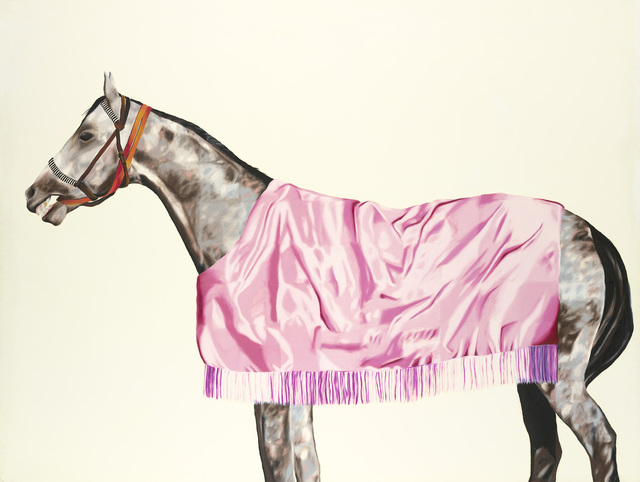 , 'Horse series No. 8, Grey with Pink Rug,' 1974, National Gallery of Victoria