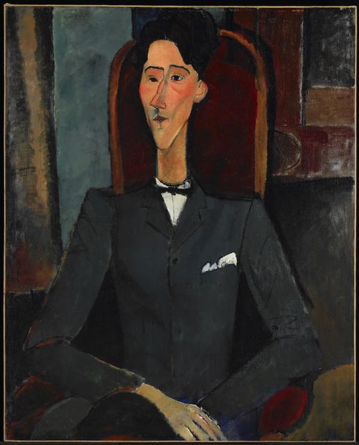 Amedeo Modigliani, 'Jean Cocteau', 1916, Princeton University Art Museum