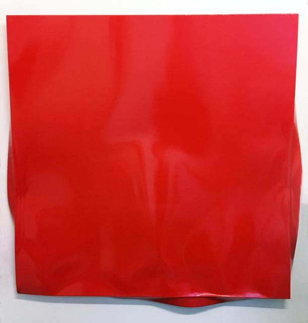 , 'Weight (Red),' 2017, Galerie Krinzinger
