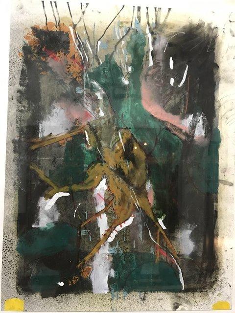 , 'LINEAR PARK #4,' 2017, Dab Art